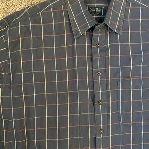 Gitman Bros Vintage Blue Oxford Shirt Sz xl